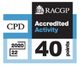RACGP Accredited Activity 40 points
