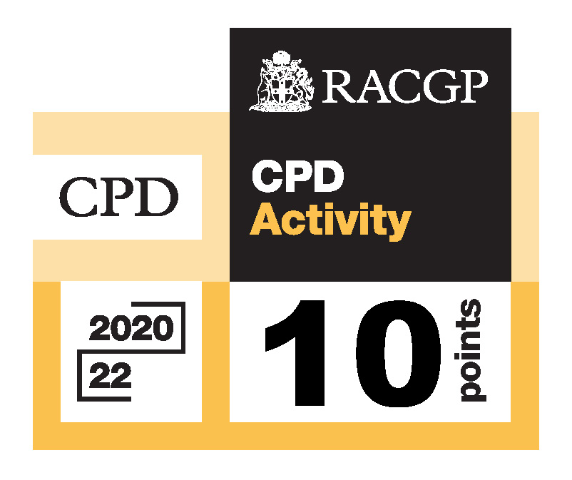 RACGP CPD 10 points logo