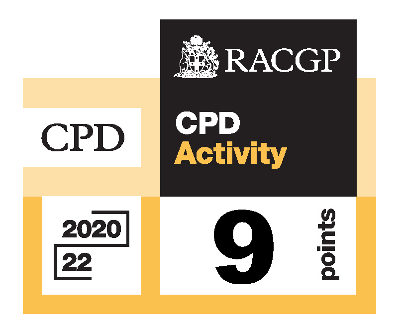 RACGP CPD 9 points logo
