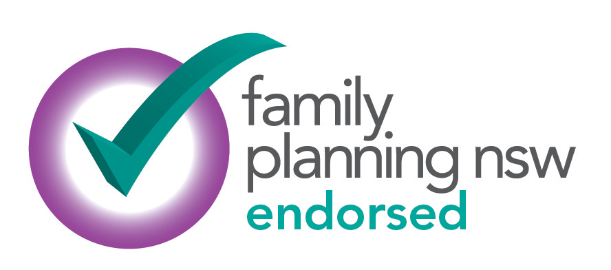 Family Planning NSW endorsed tick