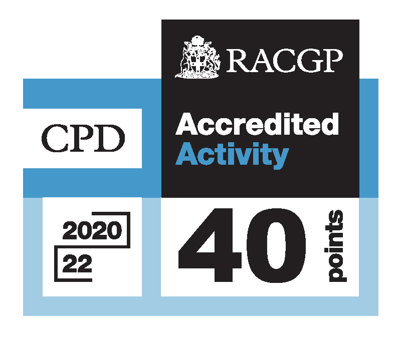 RACGP CPD-Accredited Activity logo