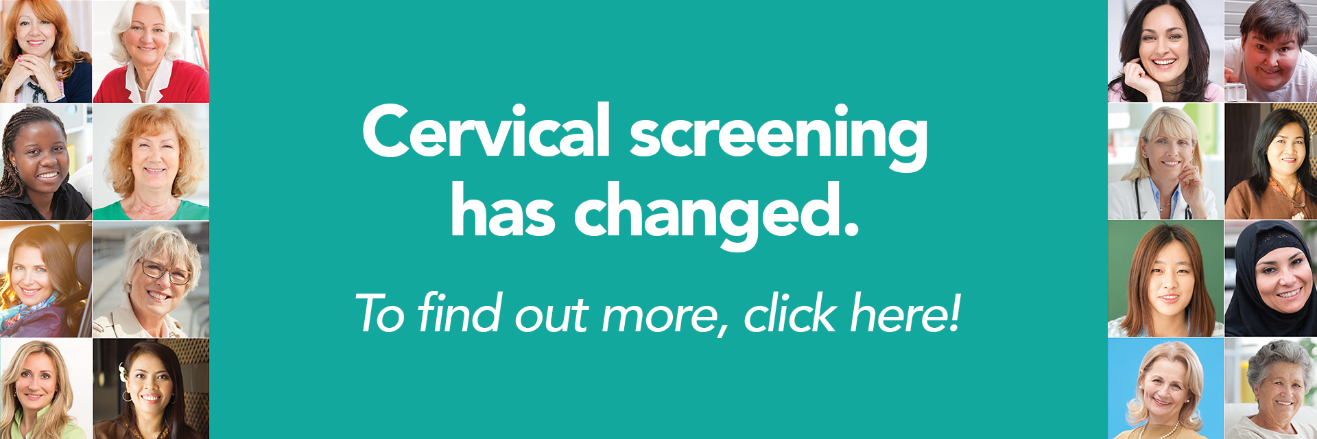 Cervical screening has changed