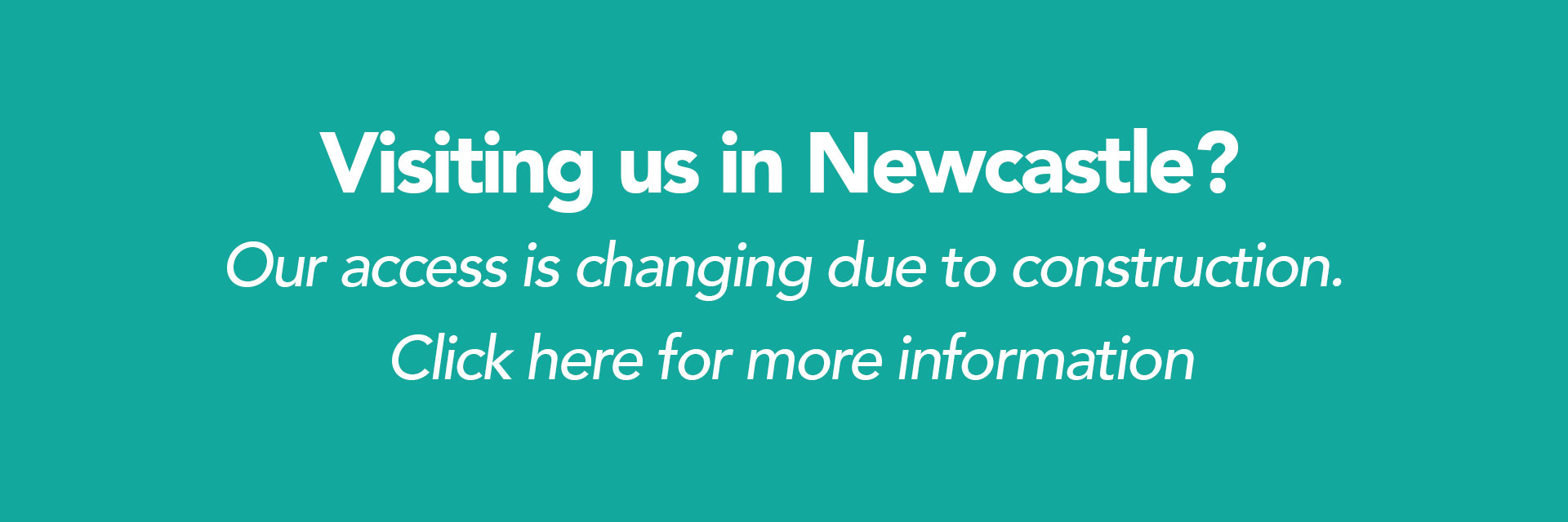 Newcastle traffic changes