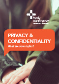 Privacy & Confidentiality trifold