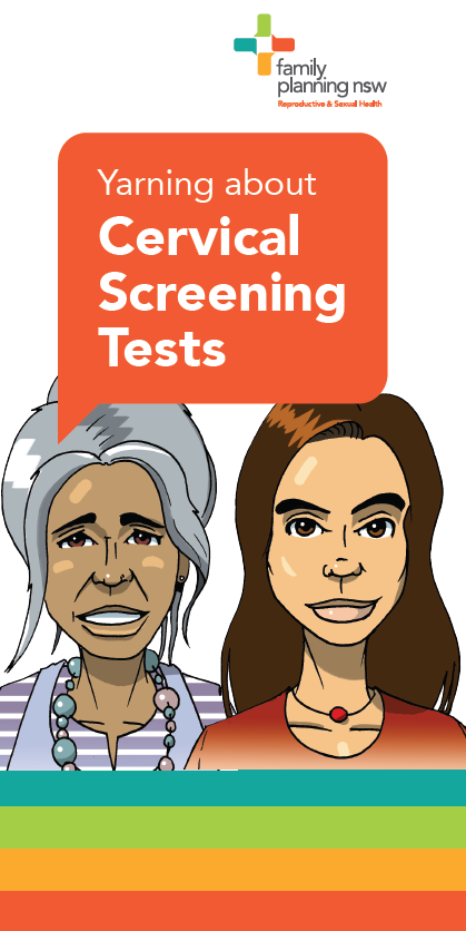 Yarning About Cervical Screening Tests cover