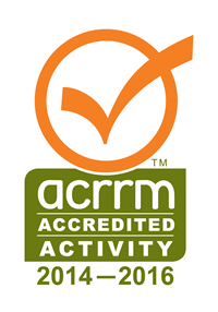 ACCRM accredited activity 2014 - 2016