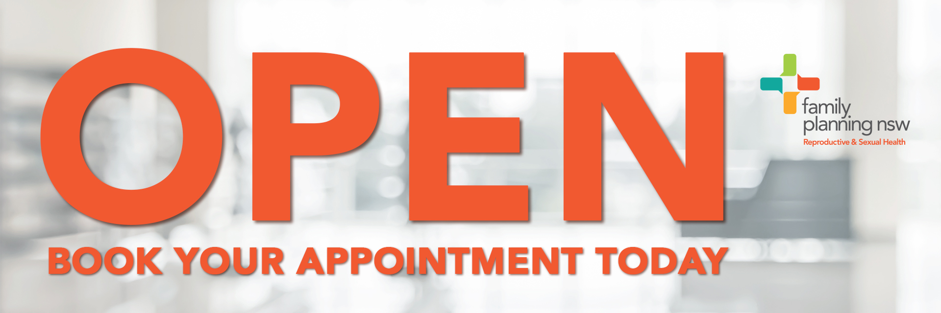 Family Planning NSW clinics are open