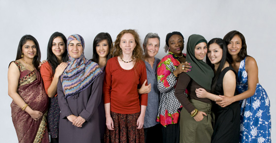 Culturally diverse women [caldwomen560wide.jpg]