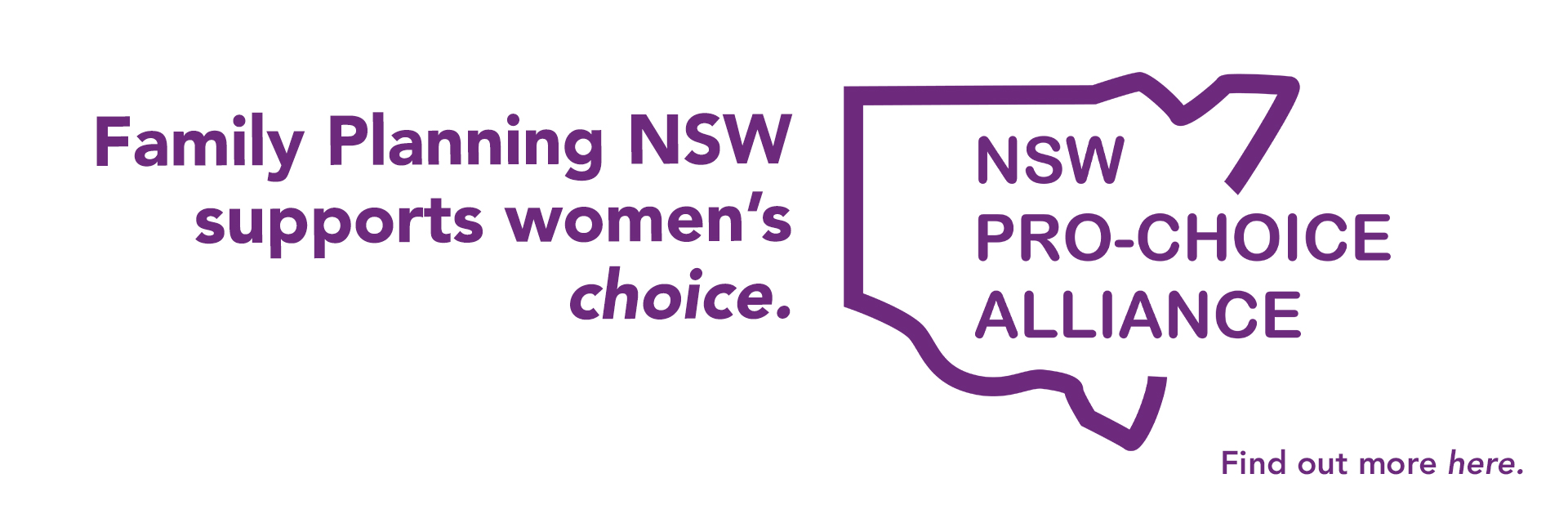 Pro-Choice Alliance campaign