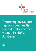 Promoting Sexual and Reproductive Health in CALD Women cover