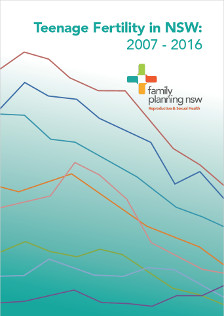 Teenage Fertility in NSW 2007-2016 cover